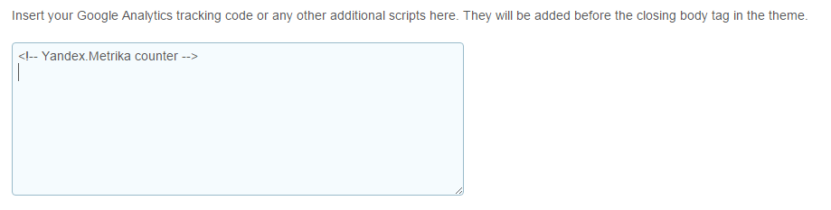 Additional scripts
