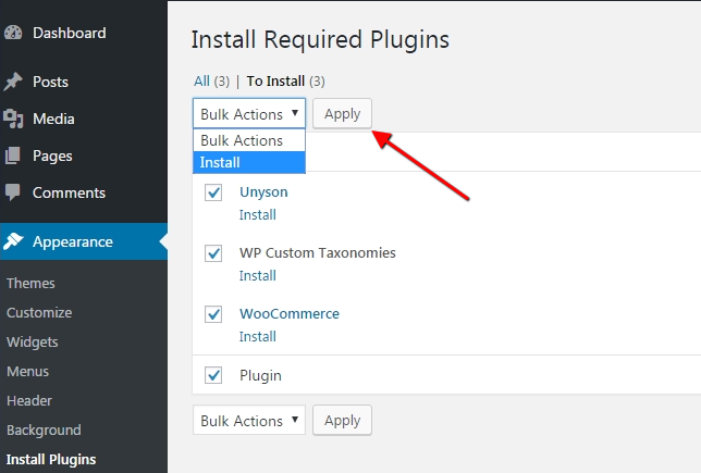 Install all plugins