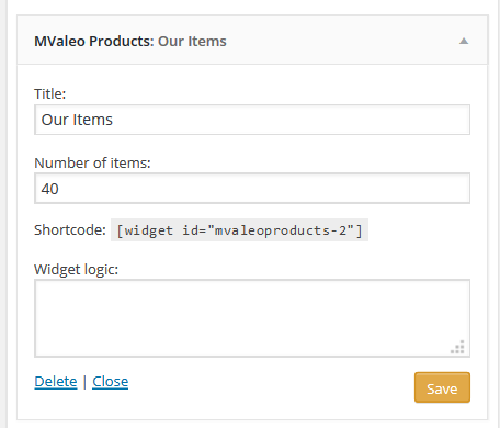 Mvaleo Products widget settings .png